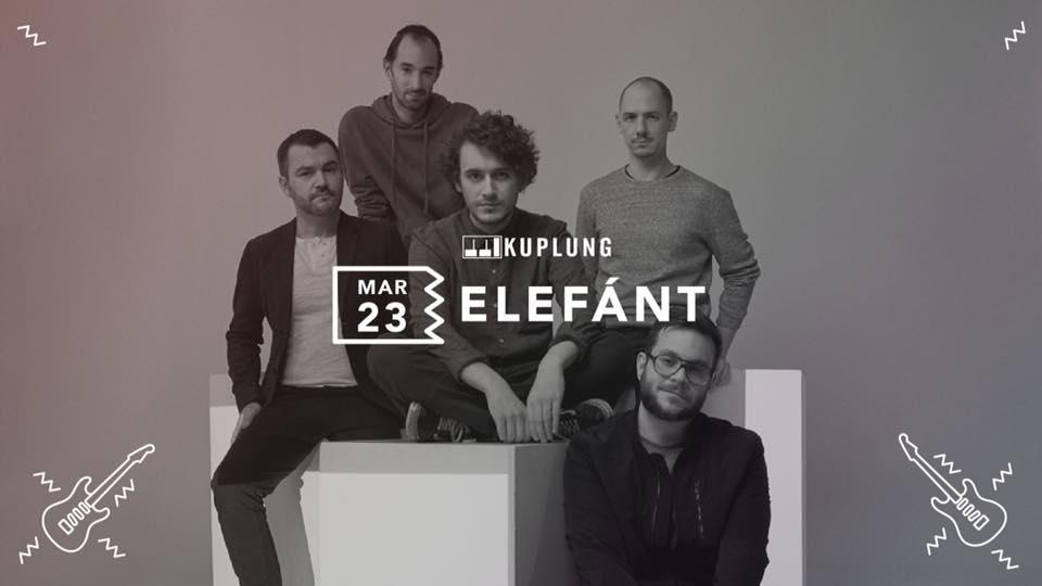 Elefánt koncert Budapesten, a Kuplungban