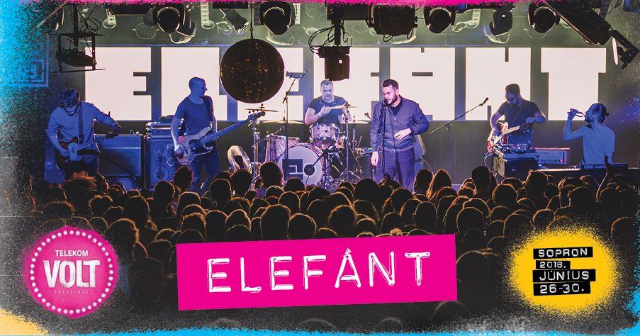 Elefánt zenekar a VOLT Fesztiválom