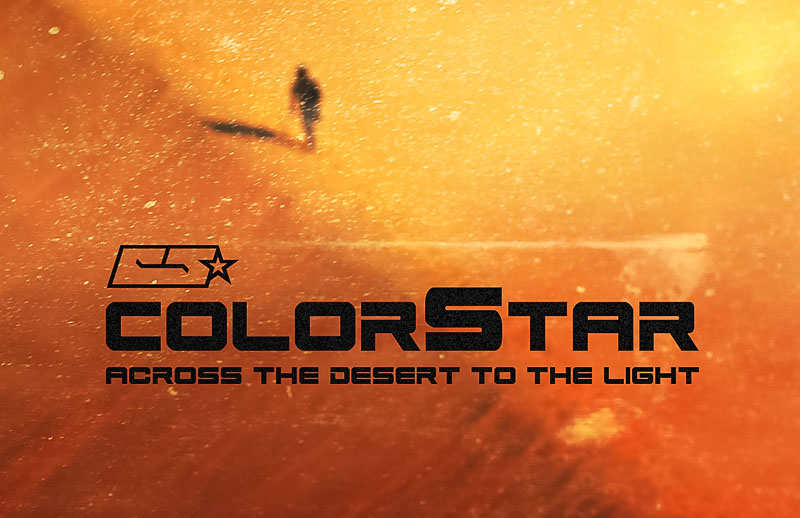 Colorstar - Across the Desert to the Light Megjelent!