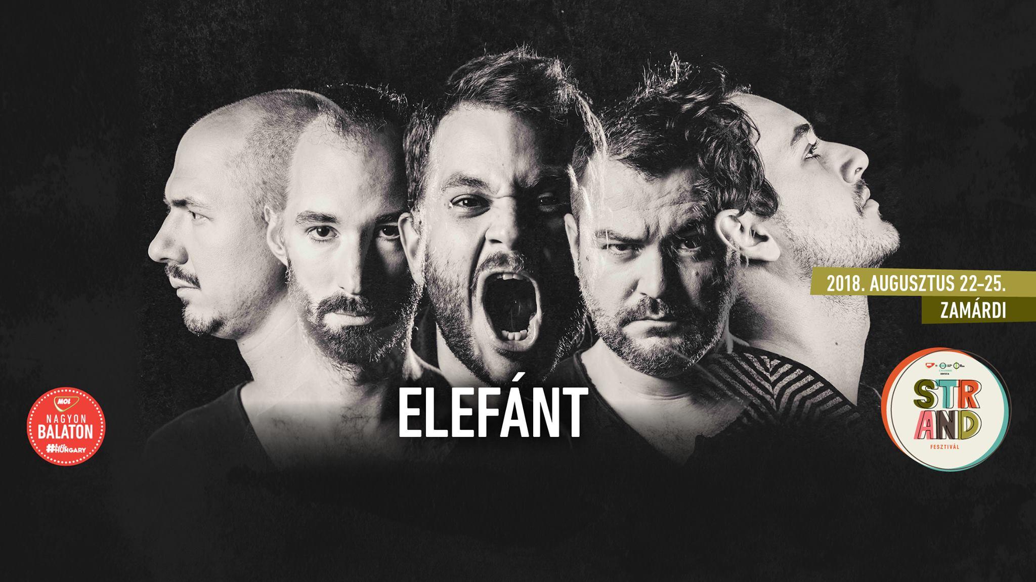 Elefánt - Strand Fesztivál Zamárdi - augusztus 25.