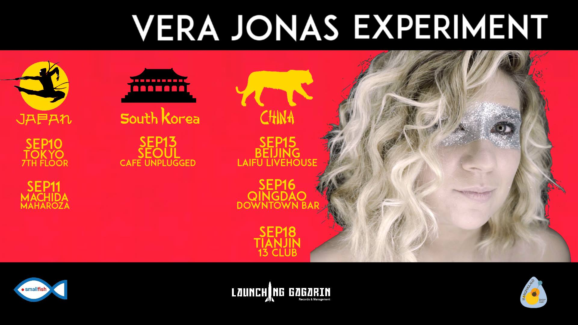 Vera Jonas Experiment - Asia Tour - September 2023