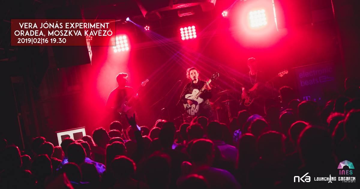 Jónás Vera Experiment koncert Naggyváradon, a Moszkva Kávézóban, Románia