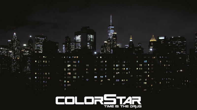 Colorstar Time is the Drug Lemezpremier