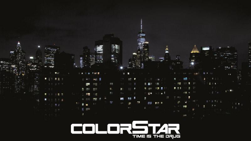 Colorstar Time is the Drug Lemezpremier