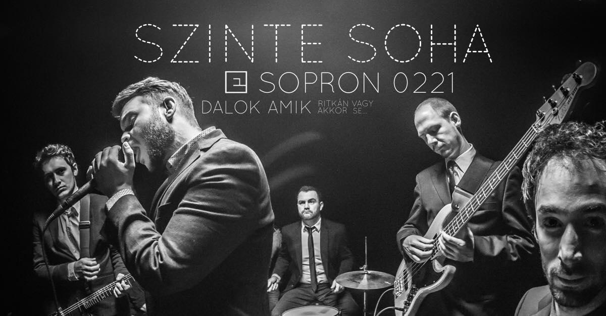 Elefánt koncert 2019. február 21-én, Sopronban, a Búgócsiga Akusztik Gardenben