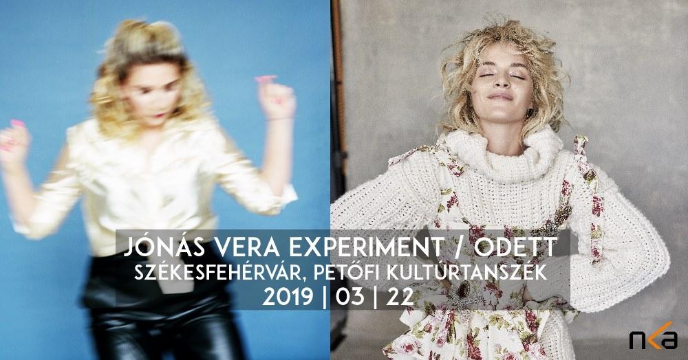 ónás Vera Experiment koncert Székesfehérváron, a Petőfi Kultúrtanszéken -2019. március 22.