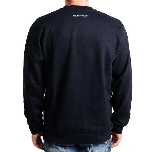 Freakin' Disco sötétkék pulóver