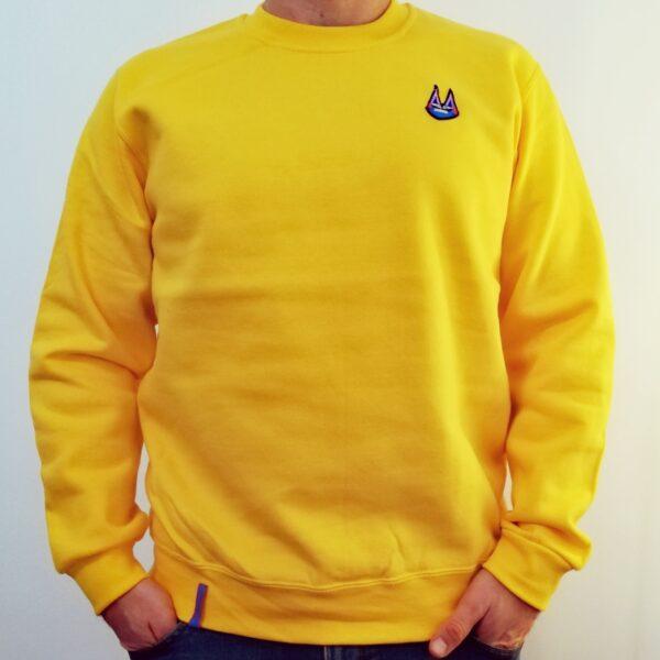 sárga freakin' Disco pulóver